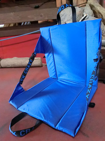 It is an outstanding performance original chair black blue folding chair legless chair in Crazy Creek crazy creek outdoors festival & gaku online shop: It is an outstanding performance original chair ...