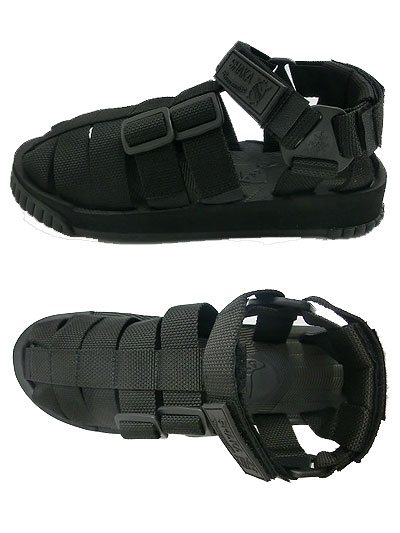 a4fc3a99654fb Even limited version sports sandals socks of SHAKA (Shaka) men's sandals  Black black Hiker ...