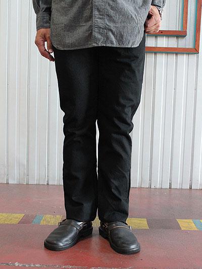 orslow オアスロウ 01-0107-D61 IVY FIT JEANS BLACK アイビーフィットジーンズブラック Made in Japan テーパードデニム 【送料無料】【あす楽対応】