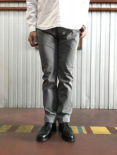 スタジオオリベ STUDIOORIBE LP01-91 L POCKET PANTS Lポケットパンツ ストレート ストレッチパンツ オンオフで活躍 定番パンツ スタジオオリベ Grayグレー