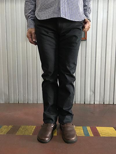 STUDIOORIBE スタジオオリベLポケ L POCKET PANTS LP01-91 Lポケットストレート ストレッチパンツ Navyカラー ネイビー チノパンツ 日本製
