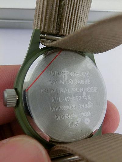 MWC ミリタリーウォッチカンパニー W113 CLASSIC RANGE QUARTZ WATCHES ブラック オリーブ ミリタリーウオッチ【あす楽対応】【メンズ腕時計】