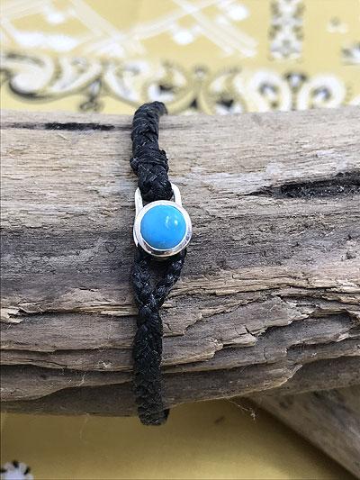 SCOSHA スコーシャ MB94 Native Bracelet ネイティブブレスレット USA製 アメリカ製 Black ブラック ユニセックス 送料無料