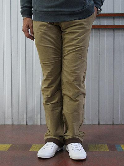 STUDIO ORIBE(スタジオオリベ)【SALE】RP06 RIB PANTS リブパンツ スウェットパンツのリラックス感とクライミングパンツの実用性 ベージュ 【送料無料】