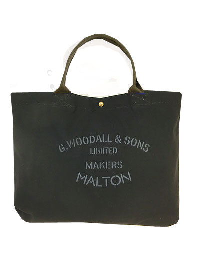 G.Woodall&Sons Shoulder Bag Popper 2034 ショルダー トートバッグ Black 送料無料