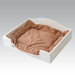 ペット用すのこベッド<ホワイト>