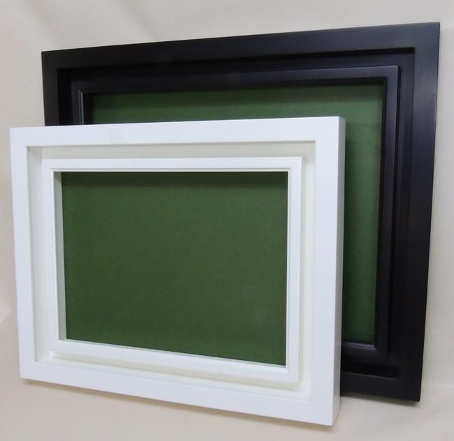 デュエット F8号 木製 前面アクリル仕様 油彩額 油絵用額縁 455×380mm