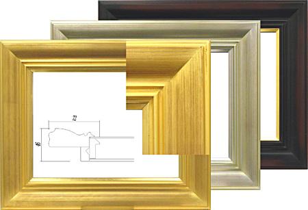 7714 F10(530×455mm) アクリル付き油彩額縁 油彩額縁 油彩額 大額