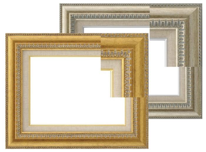 9631 ゴールド/シルバー F10号 530×455mm 油彩額 油絵額 油彩額縁 油絵額縁 額縁