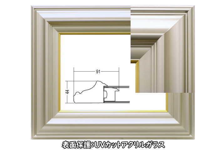 3402N シャンペンゴールド F10号 530×455mm 油彩額 油絵額 油彩額縁 油絵額縁 額縁