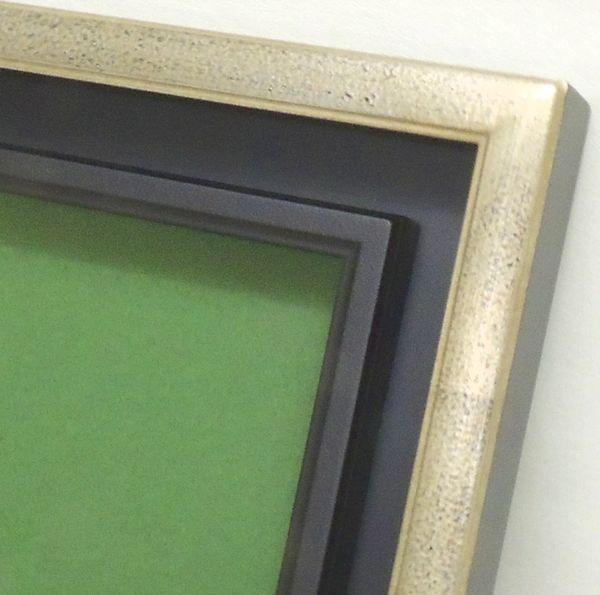 7747 シルバー F10号 530×455mm 油彩額 油絵額 油彩額縁 油絵額縁 額縁 アクリルガラス