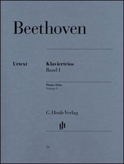 楽譜 ベートーヴェン/ピアノ三重奏曲集 第1巻(原典版)(GYW00073706/HN024/三重奏/輸入楽譜(Y))