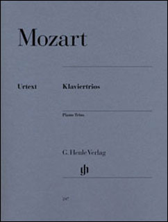 楽譜 モーツァルト/ピアノ三重奏曲全集 KV 254 496 498 502 542 548 564(原典版)(GYW00072948/HN247/三重奏/輸入楽譜(Y))