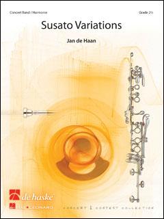 楽譜 スザート・ヴァリエーションズ/ヤン・デハーン作曲 DHP1094720-010/44010466/コンサートワークス/グレード:2.5/演奏時間:6'45''/輸入吹奏楽譜(T)