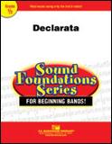 楽譜 デクラレータ/ラリー・ニーク作曲 023-4009-00/輸入吹奏楽譜(T)サウンド・ファウンデーション(レッド)/T:1:34/G:0.5