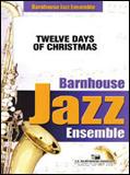 楽譜 クリスマスの12日/ポール・クラーク(編曲) 032-4029-00/輸入吹奏楽譜(T)ジャズ・アンサンブル/T:2:48/G:3