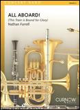 楽譜 オール・アボード!(トロンボーン・アンサンブル・フィーチャー)/ファレル作曲 44006291/トロンボーンアンサンブルと吹奏楽譜(T)/G3/T:2:30