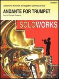楽譜 アンダンテ(「トランペット協奏曲ホ長調」より第2楽章」)/フンメル作曲 44000261/トランペットソロと吹奏楽譜(T)/G3/T:3:30