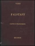 楽譜 ヴェルディ/歌劇「ファルスタッフ」 50021060/オペラ・ヴォーカル・スコア(歌詞:イタリア語/英語)/輸入楽譜(T)