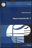 楽譜 キース・エマーソン/ピアノ協奏曲 第1番 496-00025/オーケストラ・スコア/輸入楽譜(T)