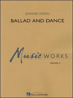 楽譜 ヴィンソン/バラードとダンス 04002234/輸入吹奏楽譜(T)/G:3/T:5:40