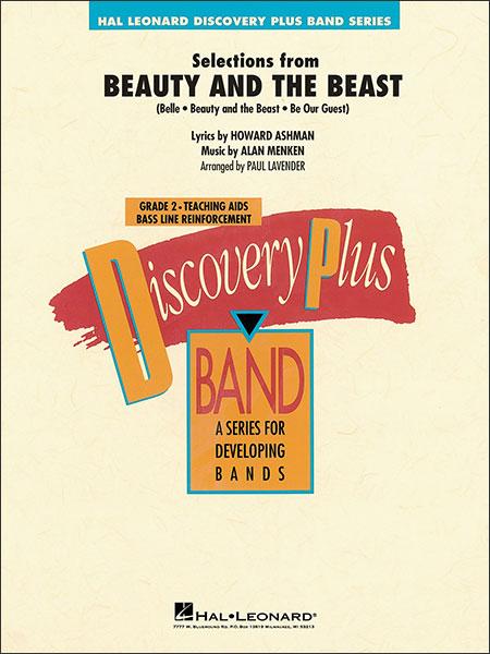 楽譜 「美女と野獣」セレクション 26020022/輸入吹奏楽譜(T)/G:2