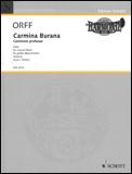 楽譜 オルフ/カルミナ・ブラーナ 49012054/輸入吹奏楽譜(T)/G:5/T:23:35