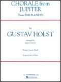 楽譜 ホルスト/木星より「コラール」 50481490/輸入吹奏楽譜(T)/G:2