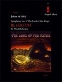 楽譜 指輪物語より第3楽章「ゴーラム」/デ・メイ 04000012/AM03-040/輸入吹奏楽譜(T)/G5.5/T:9:55