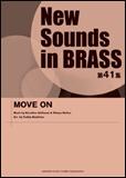 楽譜 New Sounds in Brass第41集/MOVE ON