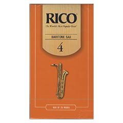 リコ リード バリトンサクソフォーン アンファイルド 硬さ:4(25枚入)(190081 )