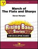 楽譜 フラットとシャープの行進曲/スティーヴン・ワンプラー作曲