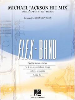 楽譜 マイケル・ジャクソン・ヒット・ミックス(04003536/フレックスバンド(輸入吹奏楽譜)/T:4:30/G2.5)