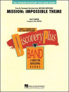 楽譜 「ミッション:インポッシブル」のテーマ(08725096/輸入吹奏楽譜/T:2:30/G2)