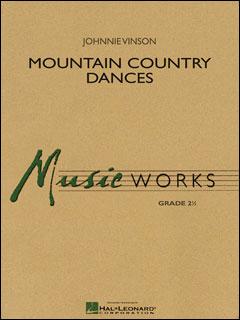 楽譜 ヴィンソン/マウンテン・カントリー・ダンス(04003049/輸入吹奏楽譜/T:5:15/G2.5)