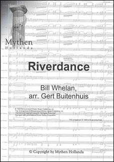 楽譜 ウィーラン/リバーダンス(MH20606/輸入吹奏楽譜(T)/T:6:00/G4)