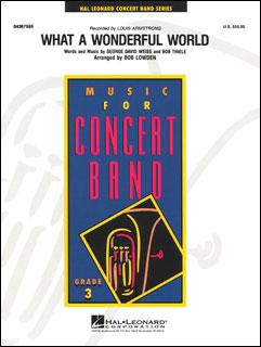 楽譜 この素晴らしき世界(04367555/輸入吹奏楽譜(T)/Young Concert Band/G3)