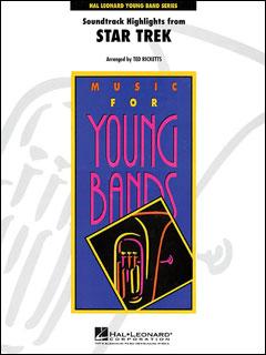 楽譜 「スター・トレック」よりサウンドトラック・ハイライト(04001219/Young Concert Band/輸入吹奏楽(T)/G3)