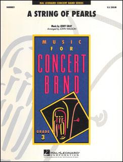 楽譜 真珠の首飾り(04000831/Young Concert Band/輸入吹奏楽(T)/T:2:15/G3)