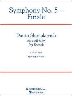楽譜 ショスタコーヴィチ/「交響曲第5番 作品47」より終楽章(50485954/輸入吹奏楽(T)/T:12:00/G5)