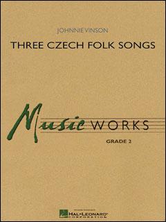 楽譜 ヴィンソン/3つのチェコ民謡(08724520/輸入吹奏楽(T)/T:5:25/G2)