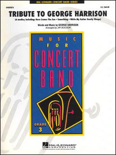 楽譜 ジョージ・ハリソンへ捧ぐ(04000876/Young Concert Band/輸入吹奏楽(T)/T:4:53/G3)