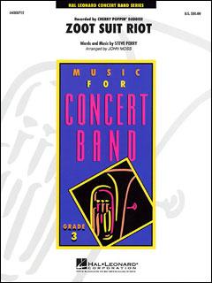 楽譜 ズート・スーツ・ライオット(04000712/Young Concert Band/輸入吹奏楽譜(T)/G3)