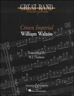 楽譜 ウォルトン/マーチ「クラウン・インペリアル」(48010656/M060055867/輸入吹奏楽譜(T)/T:8:30/G5)