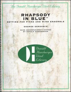 楽譜 ガーシュウィン/ラプソディ・イン・ブルー(DH9804/ピアノ・ソロ&吹奏楽/輸入吹奏楽譜(T)/G5)