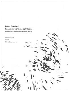 楽譜 グレンダール/トロンボーン協奏曲(【867680】/SE03124/トロンボーンとピアノ/輸入楽譜(T))