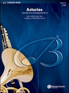 楽譜 アルベニス/アストゥリアス (伝説) (「スペイン組曲 作品47」より)(32513/輸入吹奏楽譜(T)/T:6:45/G3.5)