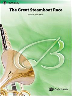 楽譜 R.W. スミス/蒸気船大レース(BDM03043/輸入吹奏楽譜(T)T:4:34/G2)