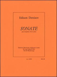楽譜 デニソフ/アルトサクソフォンとピアノのための「ソナタ」(AL24654/アルトサクソフォン・ソロとピアノ/輸入楽譜(T))