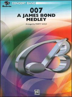 楽譜 007-ジェームズ・ボンド 楽譜・メドレー(CB9903/輸入吹奏楽譜(T)/T:4:21/G4), 彩器:c40d27d9 --- officewill.xsrv.jp